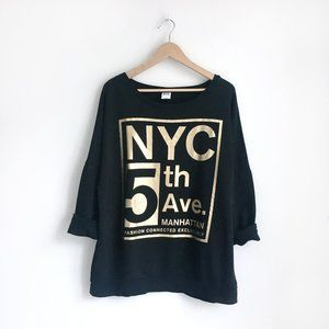 Vero Moda NYC 5th Ave Sweatshirt - size Medium